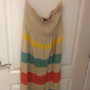 Juicy Couture Strapless Maxi Dress XL